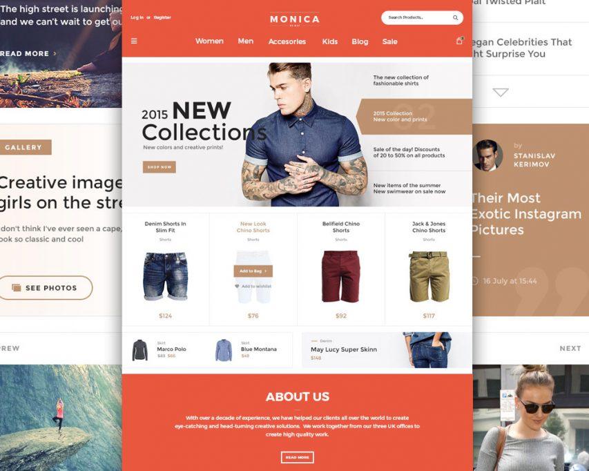 Creative Fashion Ecommerce Website