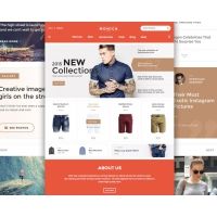 Creative Fashion Ecommerce Website