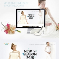Wedding eCommerce Shopping