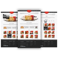 Restaurant Website Template Free