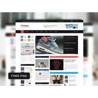 Magazine Blog Website Template Free
