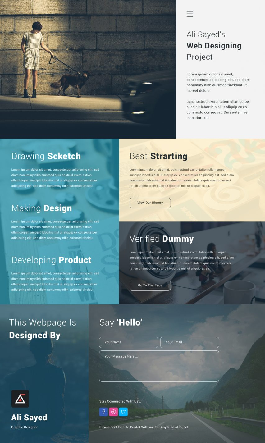 Creative Corporate Website Design