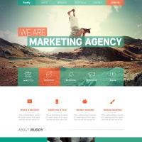 Clean One Page Website Theme