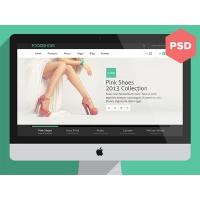 Fooseshoes eCommerce PSD