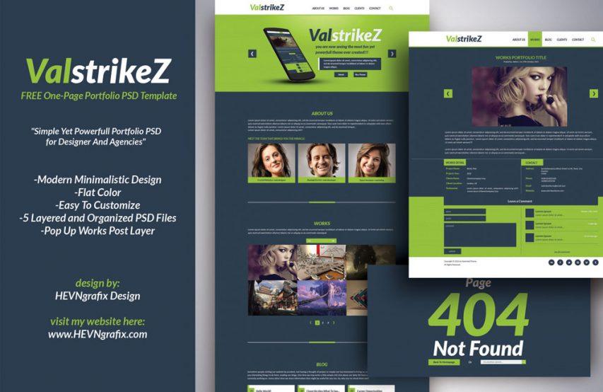 Five Page Portfolio Website