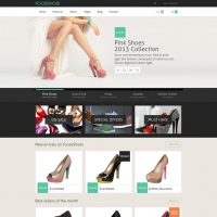 Clean eCommerce Shopping Website