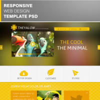 THEYALOW Responsive Web Design Template