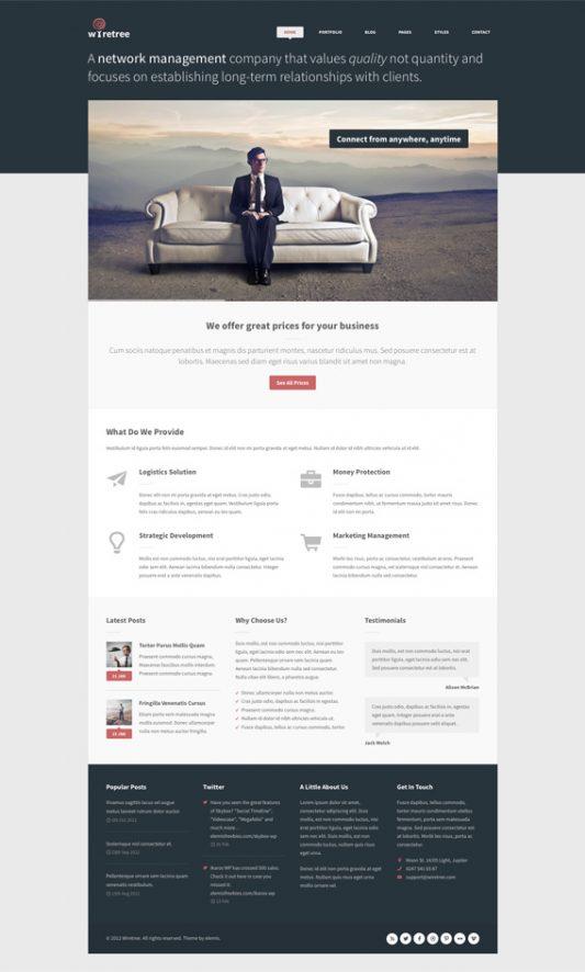 Wiretree Free Homepage