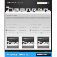 3D Creative Layout