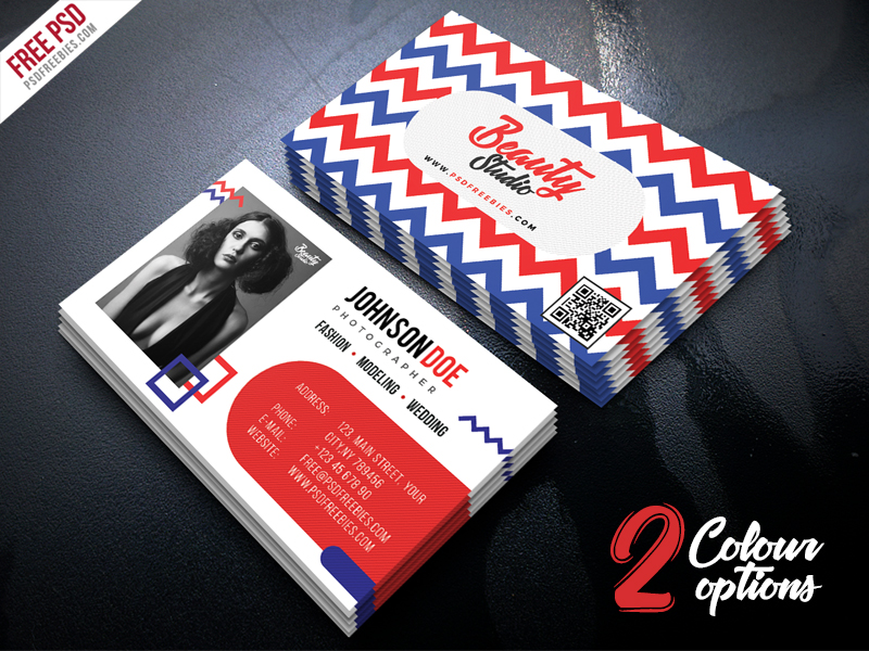 Creative Business Card Free PSD Set