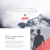 Corporate Landing Page PSD