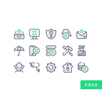 Cyber Security PSD Icons