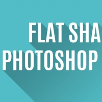 Flat Shadow - Photoshop Action
