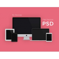 Flat Devices MockUps