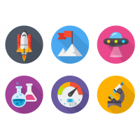 6 StartUp Icons