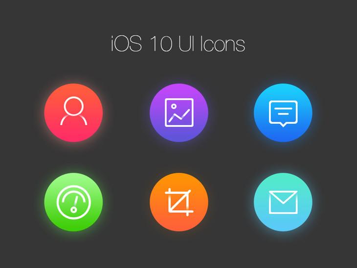 Free iOS UI Icons