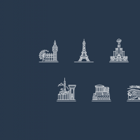 Free Cities Icons