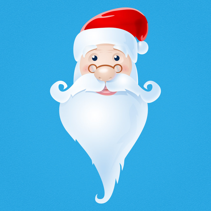 Santa Claus free PSD Icon