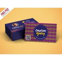 Creative Agency Business Card Template PSD