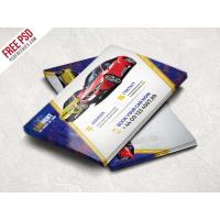 Car Dealer Business Card Template Free PSD