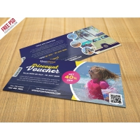 Travel and Trip Discount Voucher PSD Template