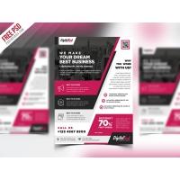 Multipurpose Modern Business Flyer PSD Template
