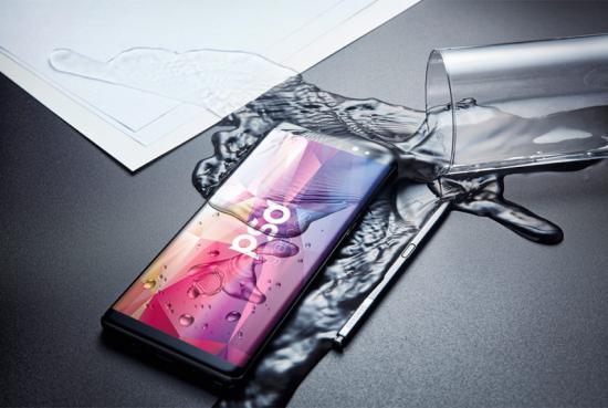 Samsung Galaxy Note 8 Mockup Psd