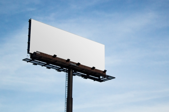 Road Billboard Mockup