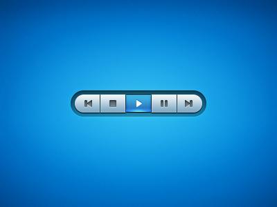 Blue Media Player Interface