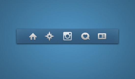 Instagram Icons Menu Bar
