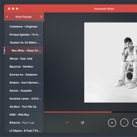 Free PSD Media Player Template
