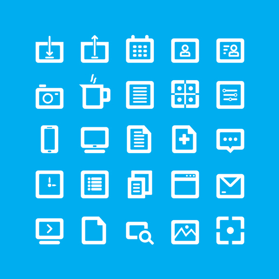 35 Free Bold Line Icons