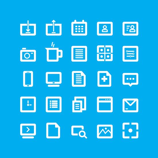 35 Free Bold Line Icons