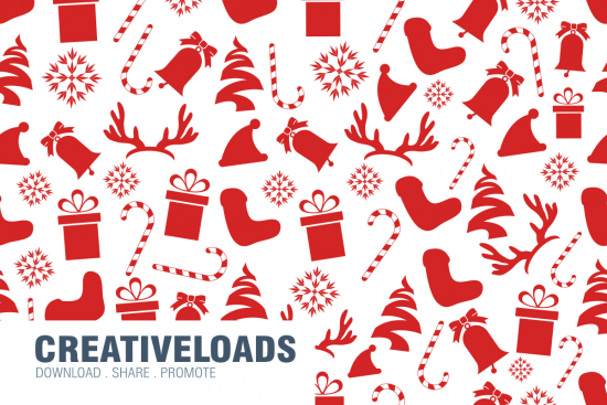 Seamless Christmas Pattern PSD