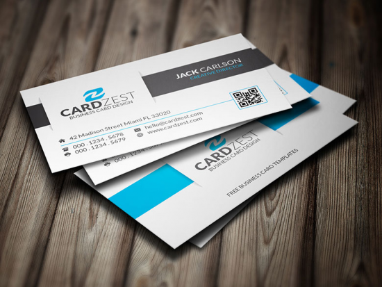 Awesome Clean Corporate Business Card Template