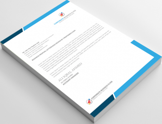 Corporate Letterhead Free Download