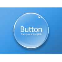Round Transparent Button