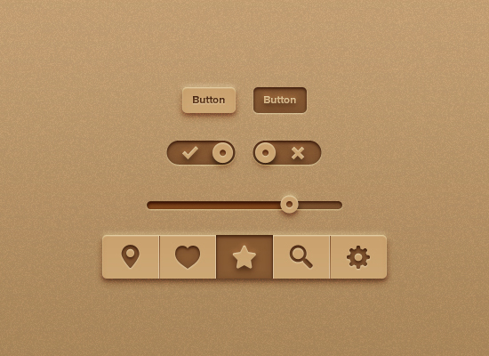 Recycled Paper Interface