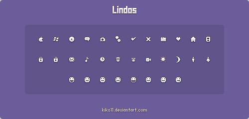 Lindos Icons By Kiko11
