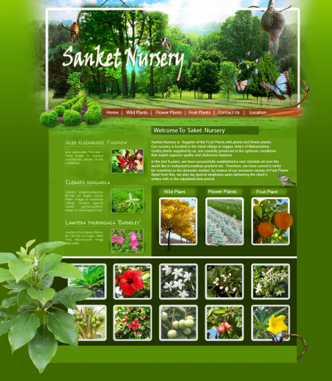 Plants Nursery Template
