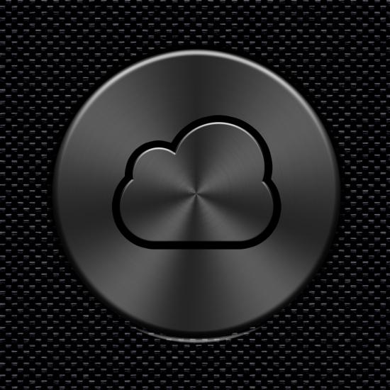 Cloud Metalic Button