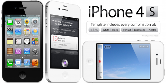 IPhone4S Device Template