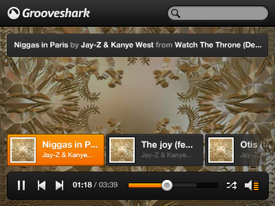 Grooveshark Player
