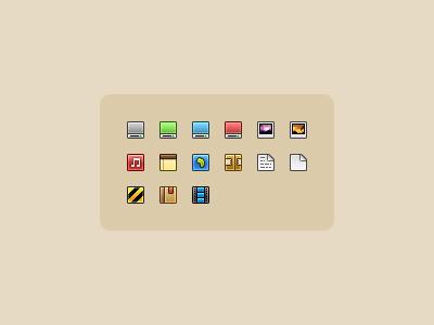 16 Px Icon Set