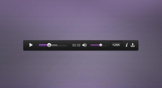 Audio Player Controlls