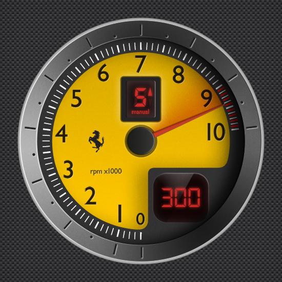 Ferrari F430 Tachometer