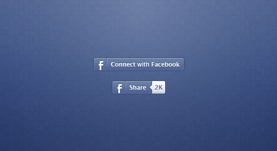 Facebook Share Icon Design