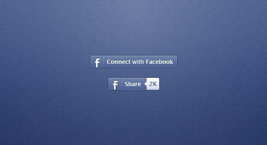 Facebook Share Icon Design