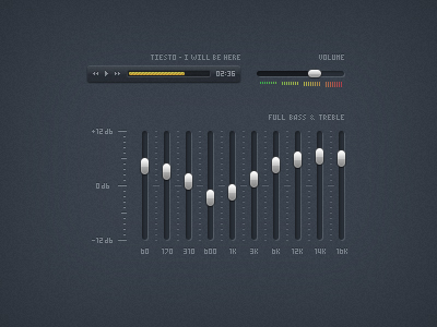 Equalizer User Interface
