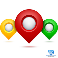 Google Maps Pointer PSD
